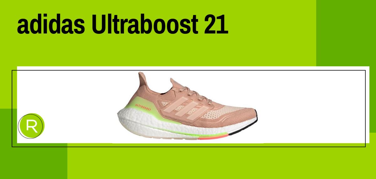 Mejores zapatillas running para mujer 2021, adidas Ultraboost 21