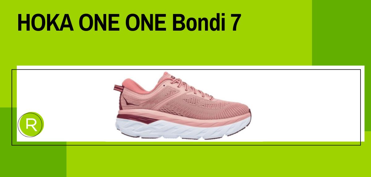 Mejores zapatillas running para mujer 2021, HOKA ONE ONE Bondi 7