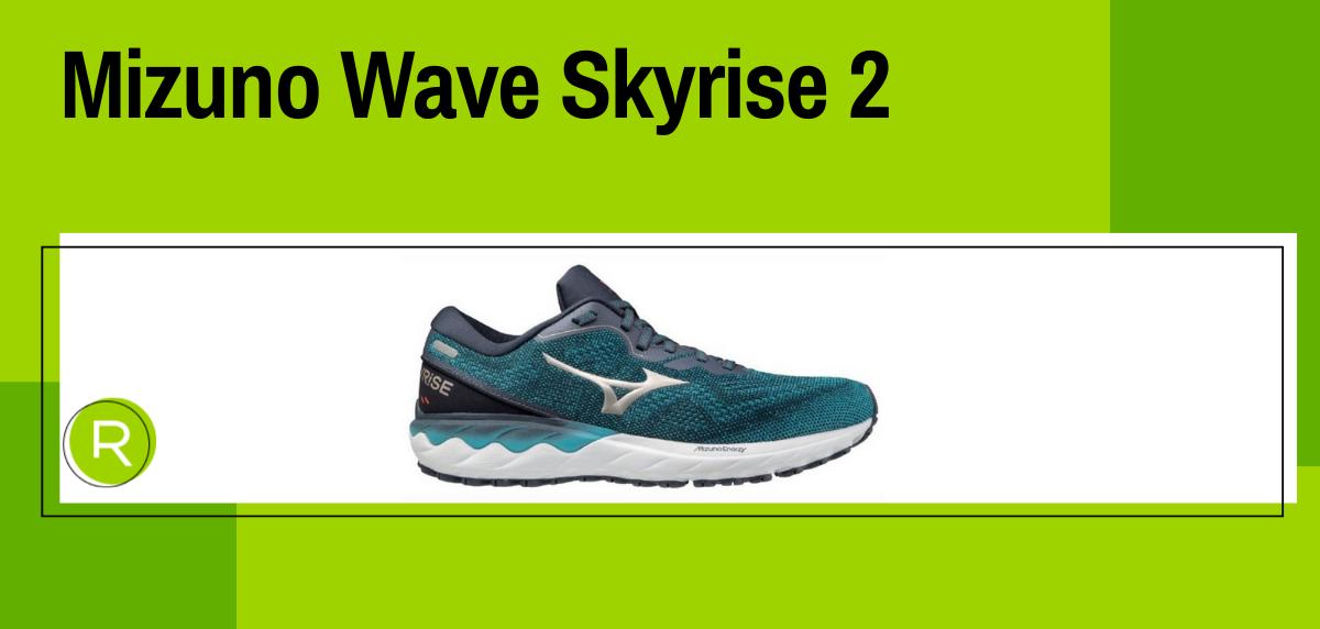 Mejores zapatillas running para mujer 2021, Mizuno Wave Skyrise 2