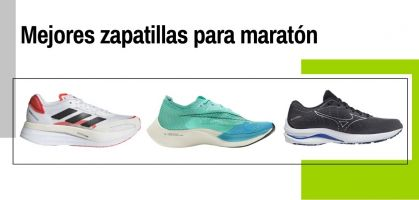 Las 16 mejores zapatillas de running para maratón