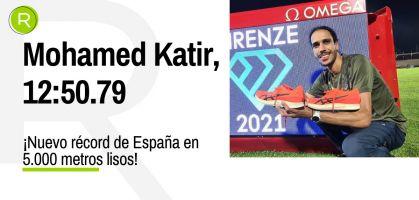 Asics MetaSpeed LD Track,  las zapatillas con las que Katir ha batido el récord de España de 5K en pista