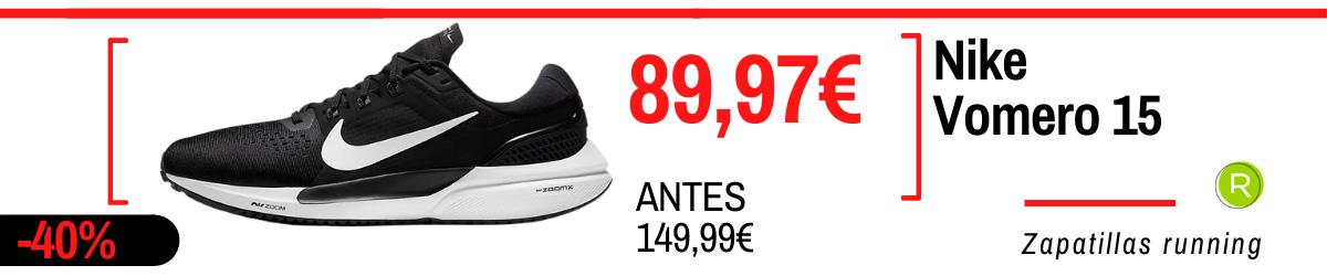 Rebajas Nike en zapatillas de running - Nike Vomero 15