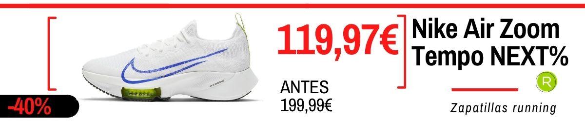 Rebajas de verano Nike 2021: los mejores chollos en zapatillas, Nike Air Zoom Tempo Next%