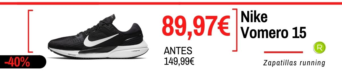 Rebajas de verano Nike 2021: los mejores chollos en zapatillas, Nike Vomero 15