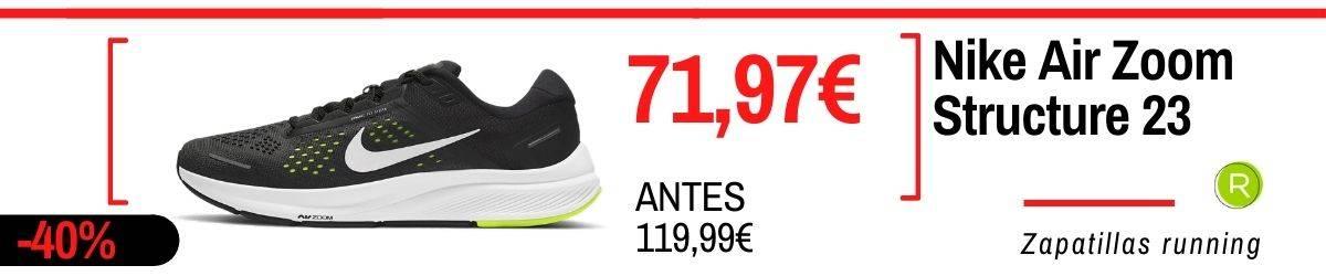 Rebajas running verano 2021, Nike Structure 23