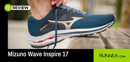 Mizuno Wave Inspire 17, sobresalientes en amortiguación y notables en comodidad
