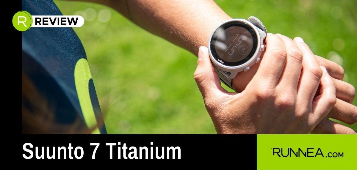 Suunto 7 Titanium, el smartwatch optimizado para una vida deportiva sin límites