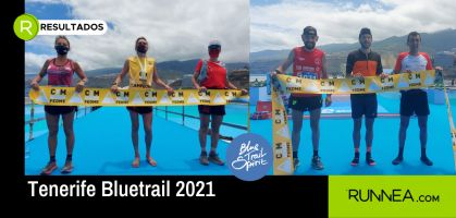 Andreu Simón y Marta Molist, ganadores del Campeonato de España de Ultra Trail 2021 en Tenerife