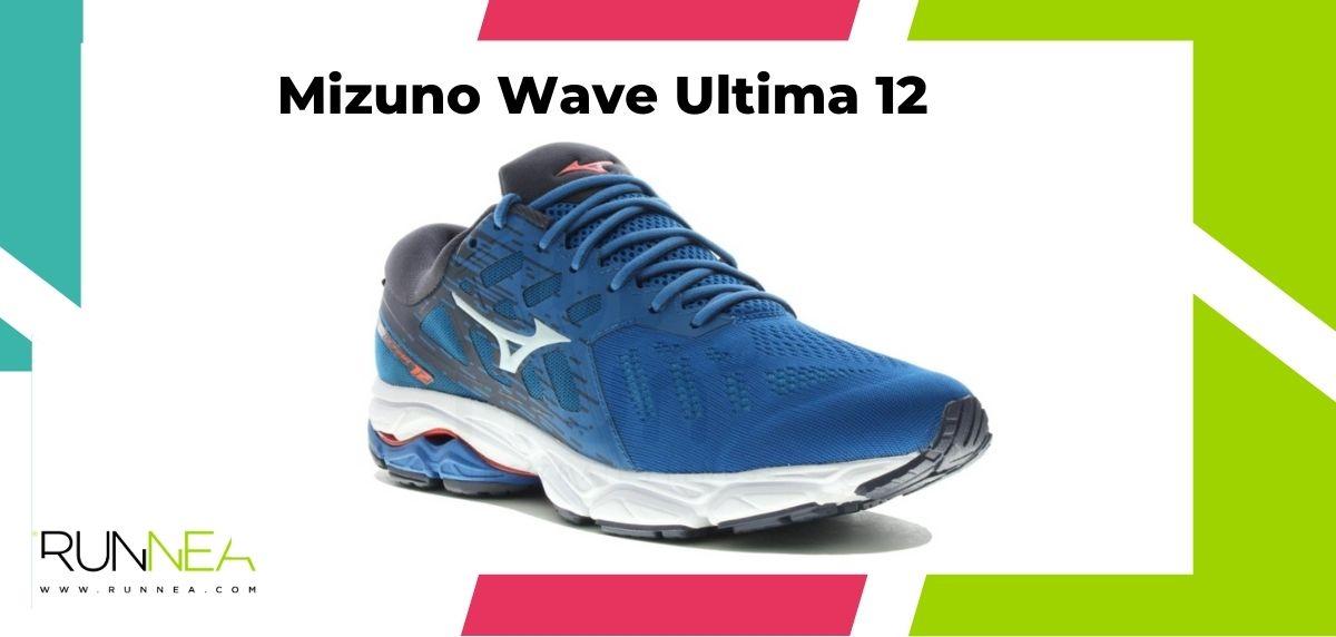 Zapatillas de running para corredores de pies anchos, Mizuno Wave Ultima 12