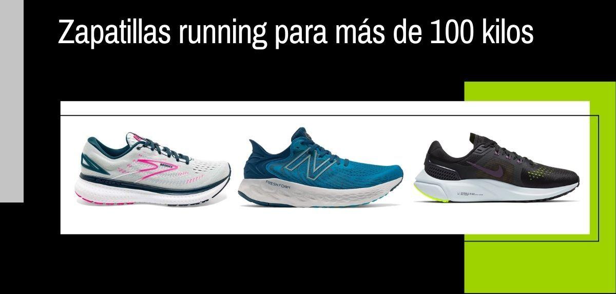 Zapatillas de running para más de 100 kilos