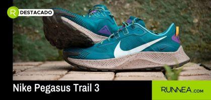 ¿Nike, por qué nos haces esto? Las Pegasus Trail 3 son tan chulas que te pensarás el correr con ellas (para no mancharlas)