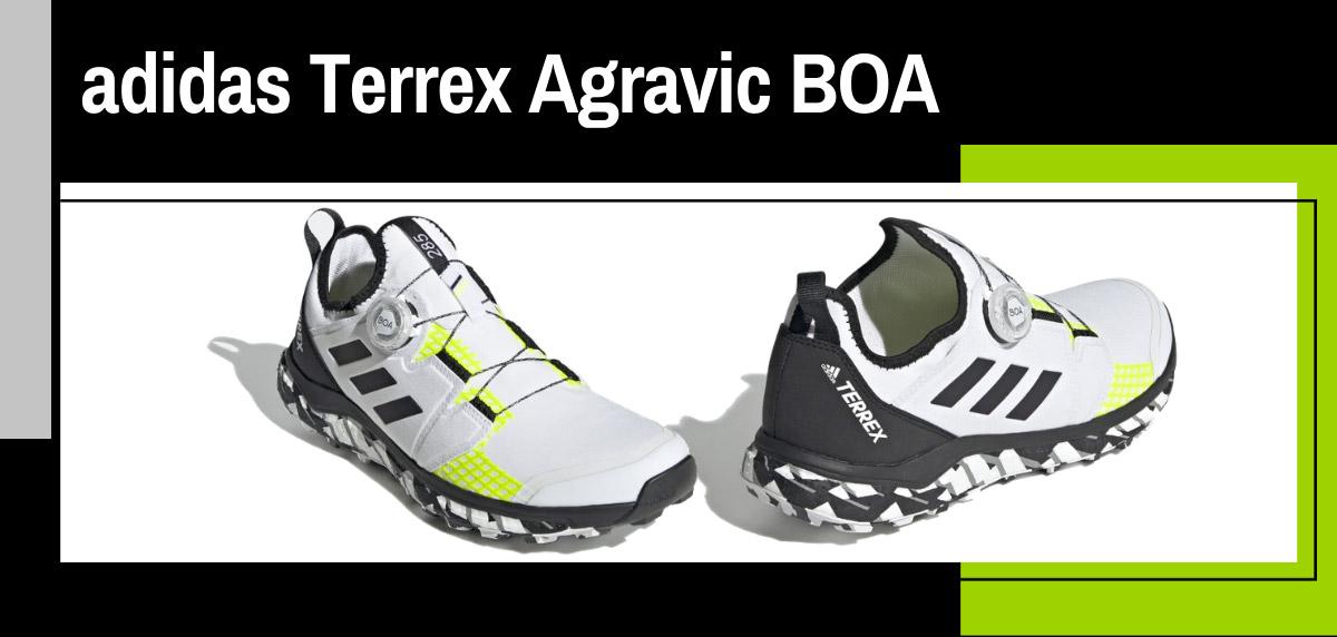 Mejores zapatillas de trail adidas para mujer - adidas Terrex Agravic BOA