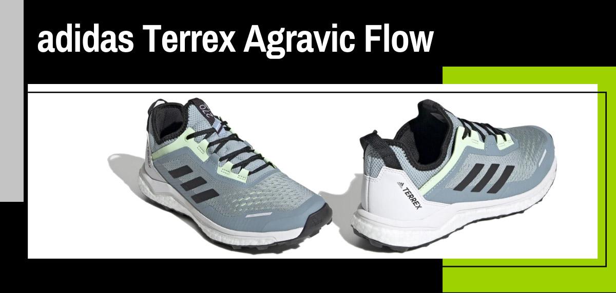 Mejores zapatillas de trail adidas para mujer - adidas Terrex Agravic Flow