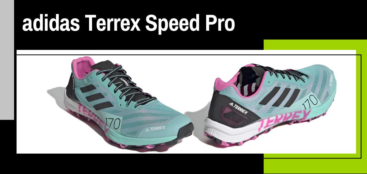 Mejores zapatillas de trail adidas para mujer - adidas Terrex Speed Pro