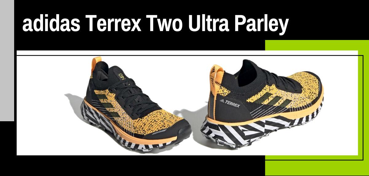 Mejores zapatillas de trail adidas para mujer - adidas Terrex Two Ultra Parley