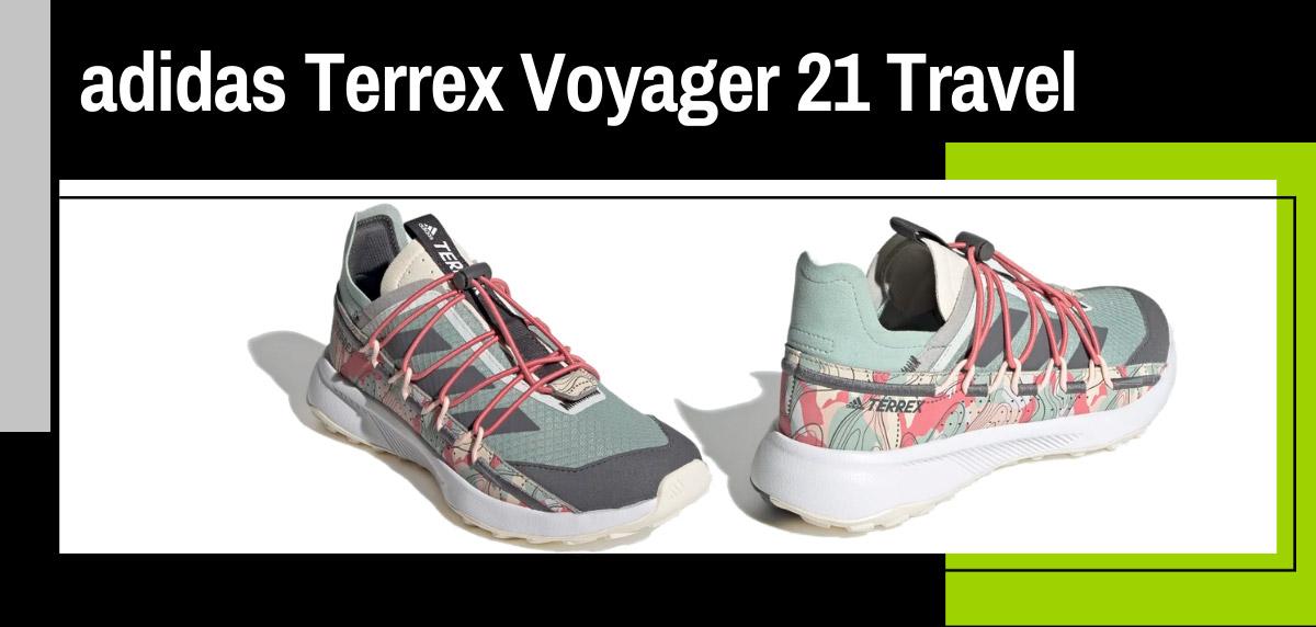 Mejores zapatillas de trail adidas para mujer - adidas Terrex Voyager 21 Travel