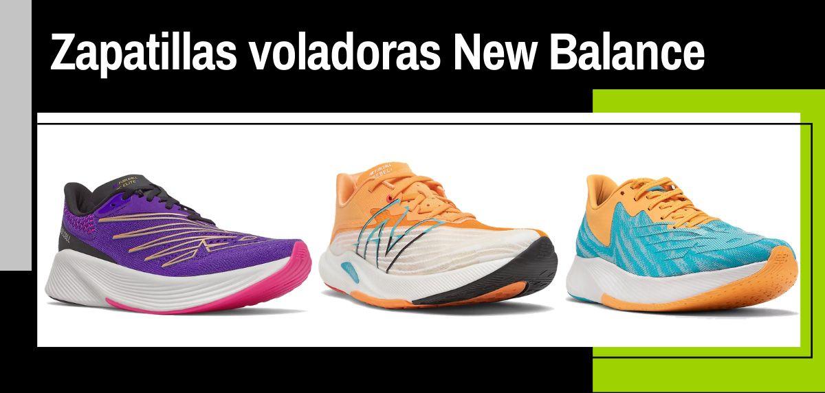 Estas son las zapatillas de New Balance que te harán volar sobre el asfalto ¡Conoce la nueva espuma FuelCell ACL!