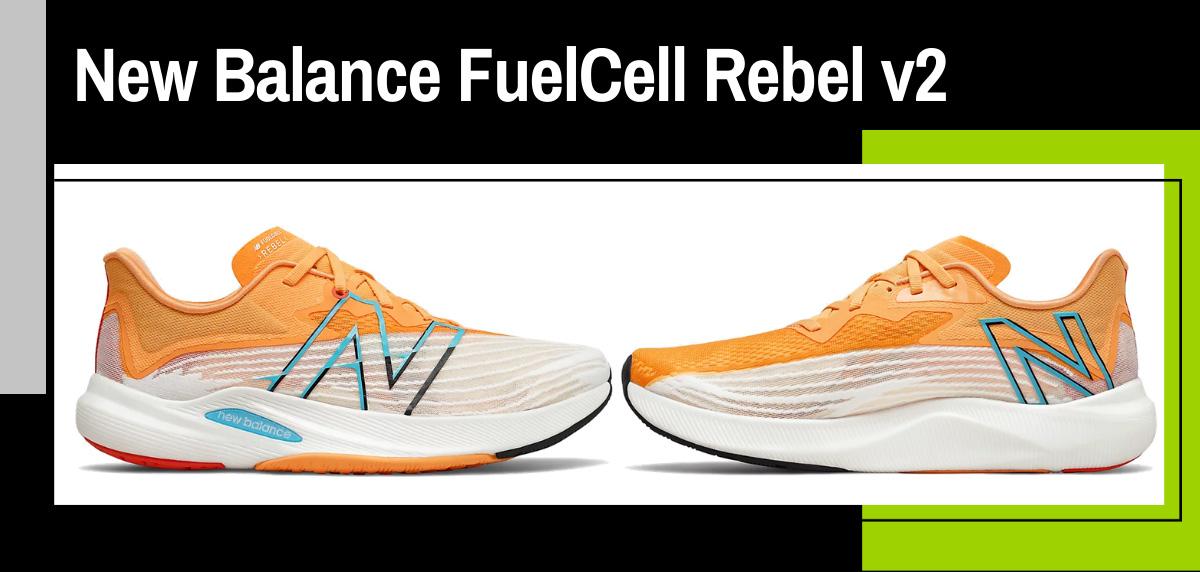 Zapatillas voladoras de New Balance con FuelCell ACL - New Balance FuelCell Rebel v2
