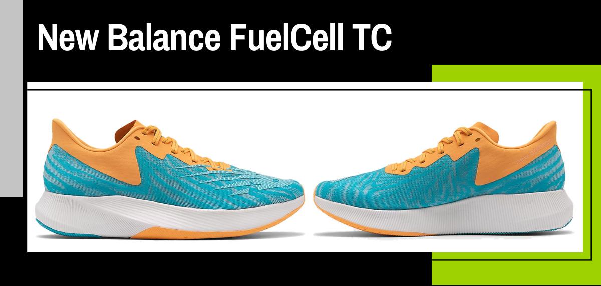 Zapatillas voladoras de New Balance con FuelCell ACL - New Balance FuelCell TC