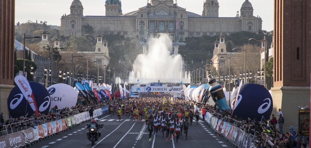 Zurich Maratón de Barcelona: Salida