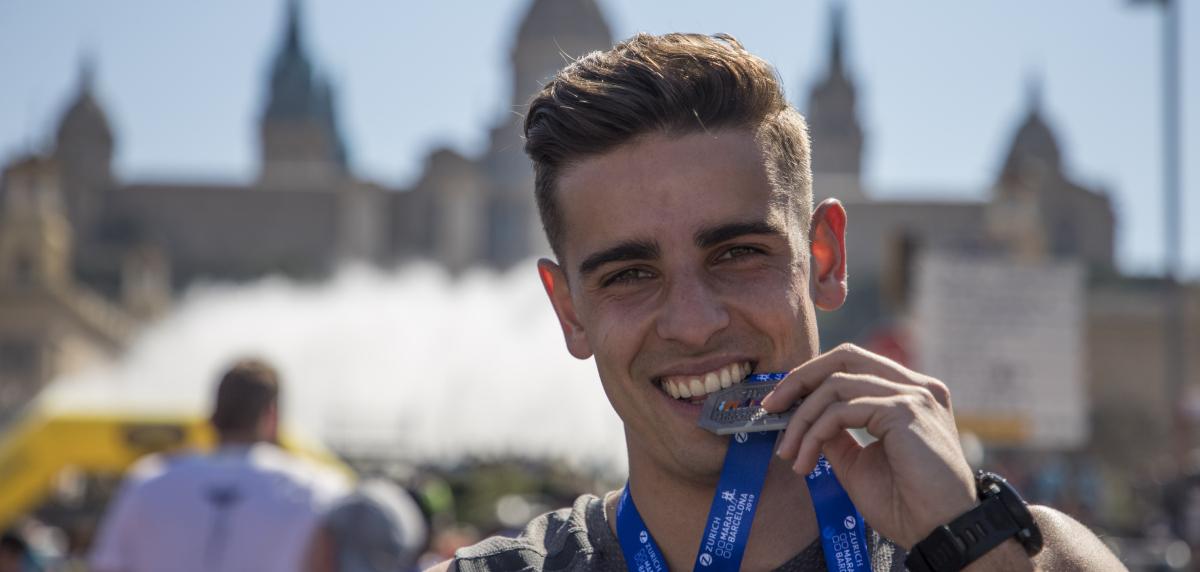 Zurich Maratón de Barcelona: Medalla