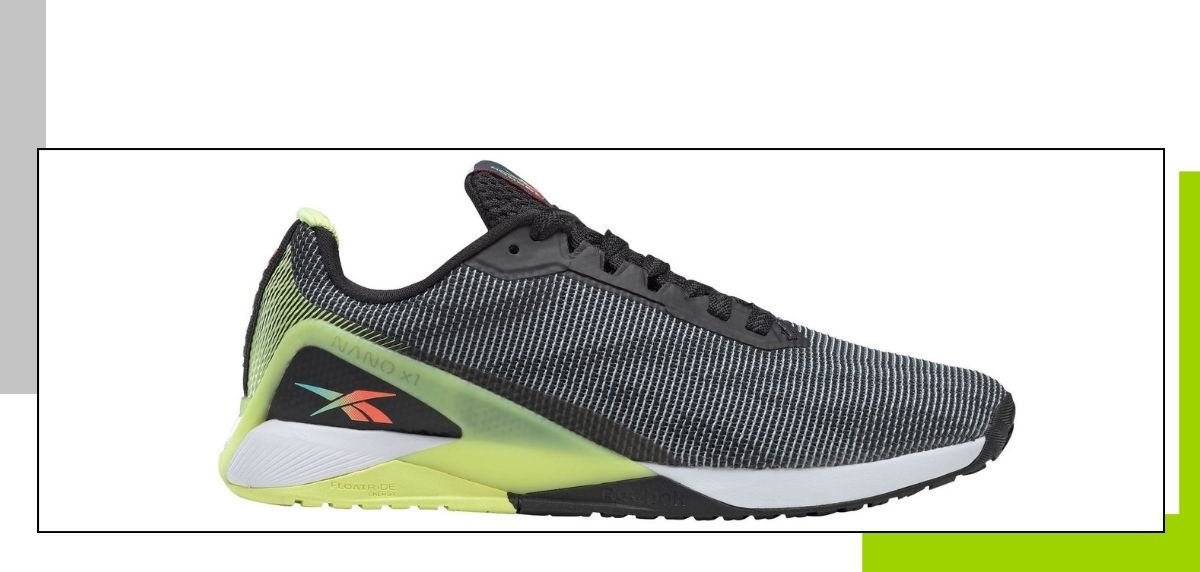 Las 10 mejores zapatillas de fitness 2021, Reebok Nano X1