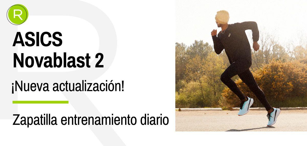 Todavía no lo sabes, pero las nuevas ASICS Novablast 2 serán tus próximas zapatillas de entrenamiento diario