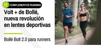 Redescubre tu nuevo mundo runner corriendo con las lentes Volt + de Bollé ¡desarrolladas con inteligencia artificial!