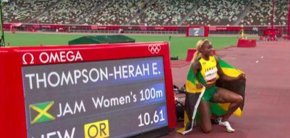 Tokio 2021: Récord Olímpico de Elaine Thompson en los 100 metros lisos femenino y programa de hoy