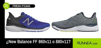 ¡Fresh Foam para todos! Te ayudamos a elegir entre las 860v11 y 880v11