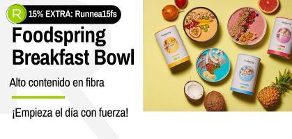 Foodspring Breakfast Bowl: ¡Empieza el día con energía y ahora con un 15% de descuento exclusivo!