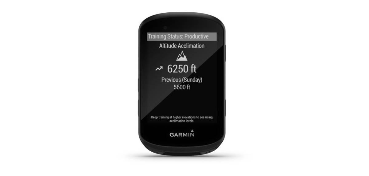 Garmin Edge 530, métricas avanzadas