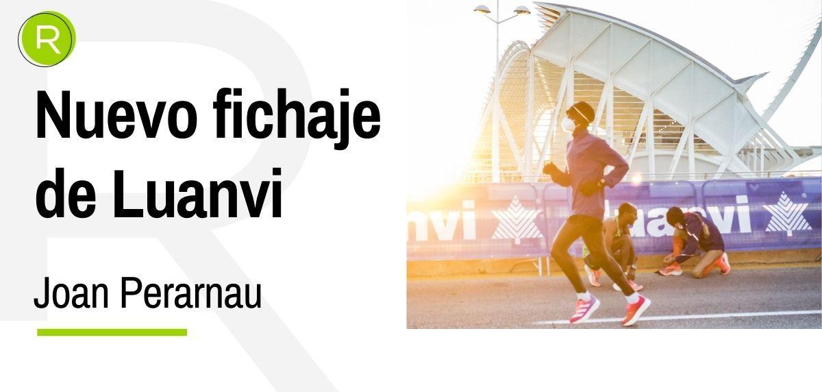 Joan Perarnau se une a la ambiciosa apuesta de Luanvi por el atletismo