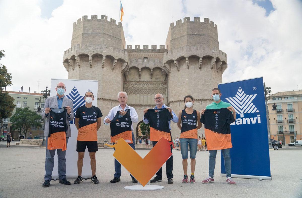 Presentación de la camiseta oficial del Medio Maratón Valencia Trinidad Alfonso EDP - foto 2