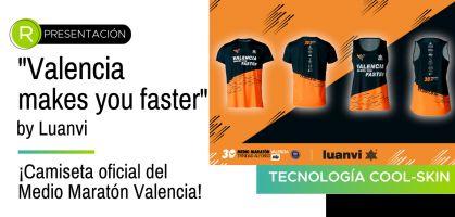 Luanvi seguirá vistiendo a los runners del Medio Maratón Valencia hasta 2023