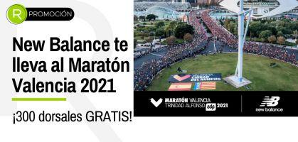 ¡300 dorsales para el Maratón Valencia 2021!: New Balance te lleva a correr gratis la mítica prueba valenciana