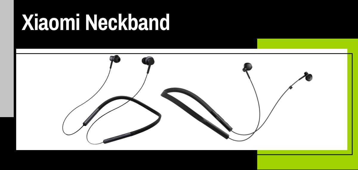Mejores auriculares inalámbricos Xiaomi para salir a correr - Xiaomi Neckband