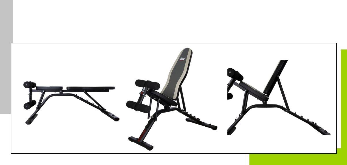 Le migliori panche per fare esercizio a casa, BH G320FD Optima Multiposition Bench