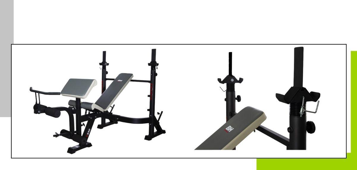 Le migliori panche per allenarsi a casa, Olympic Bench G330FD Optima Press