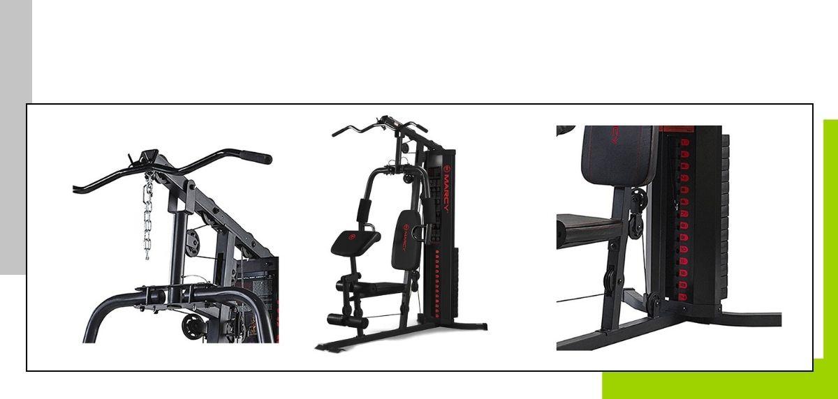 Le migliori panche per allenarsi a casa, Marcy Eclipse HG3000 Compact Home Gym Multi Station