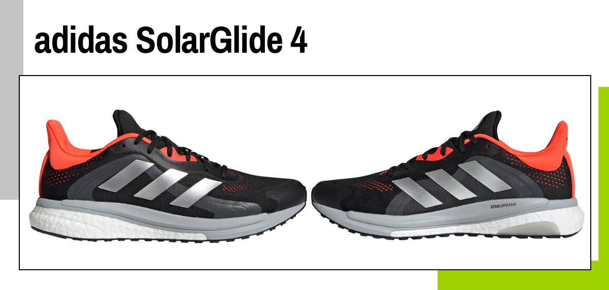 Mejores zapatillas para caminar rápido y practicar marcha deportiva - adidas SolarGlide 4