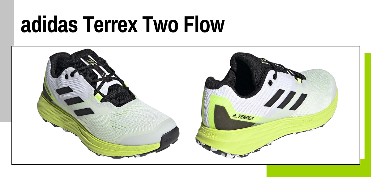Mejores zapatillas para caminar rápido y practicar marcha deportiva - adidas Terrex Two Flow