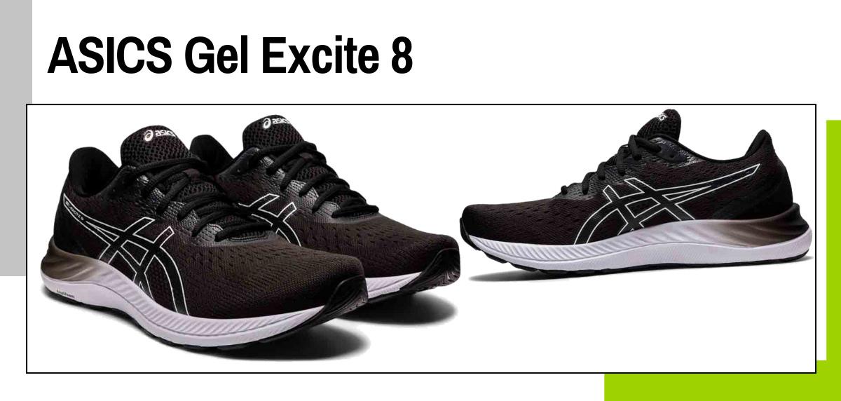 Mejores zapatillas para caminar rápido y practicar marcha deportiva - ASICS Gel Excite 8
