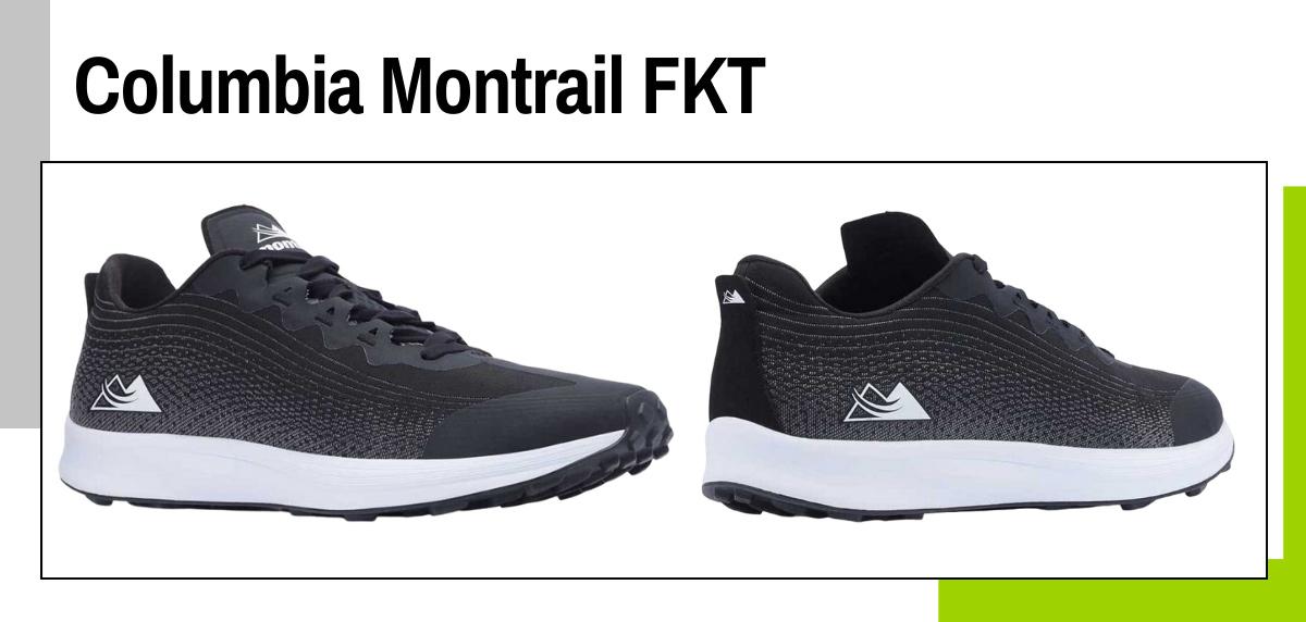 Mejores zapatillas para caminar rápido y practicar marcha deportiva - Columbia Montrail FKT