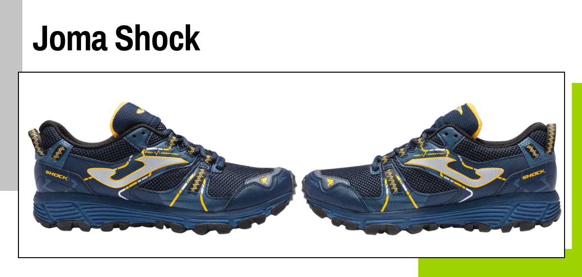 Mejores zapatillas para caminar rápido y practicar marcha deportiva - Joma Shock