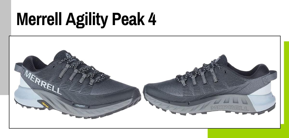 Mejores zapatillas para caminar rápido y practicar marcha deportiva - Merrell Agility Peak 4