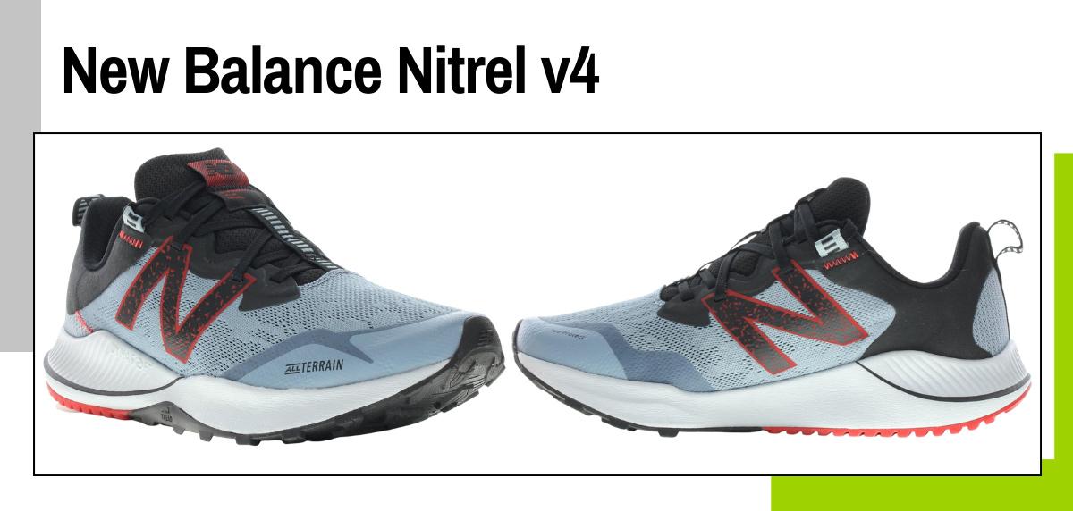 Mejores zapatillas para caminar rápido y practicar marcha deportiva - New Balance Nitrel v4