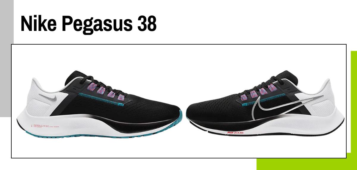 Mejores zapatillas para caminar rápido y practicar marcha deportiva - Nike Pegasus 38