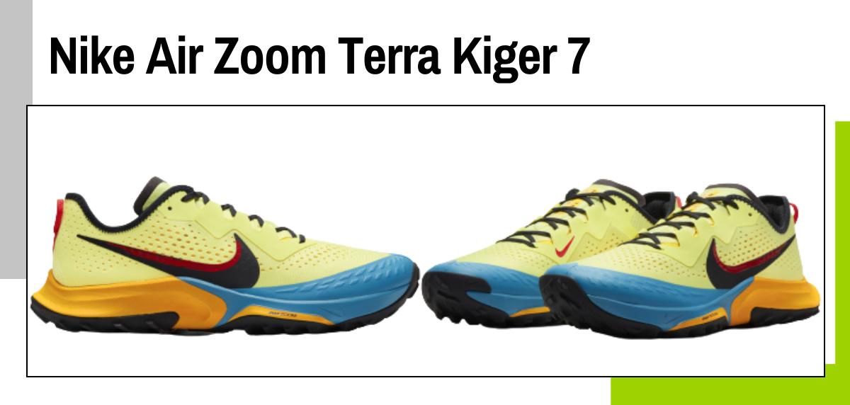 Mejores zapatillas para caminar rápido y practicar marcha deportiva - Nike Air Zoom Terra Kiger 7