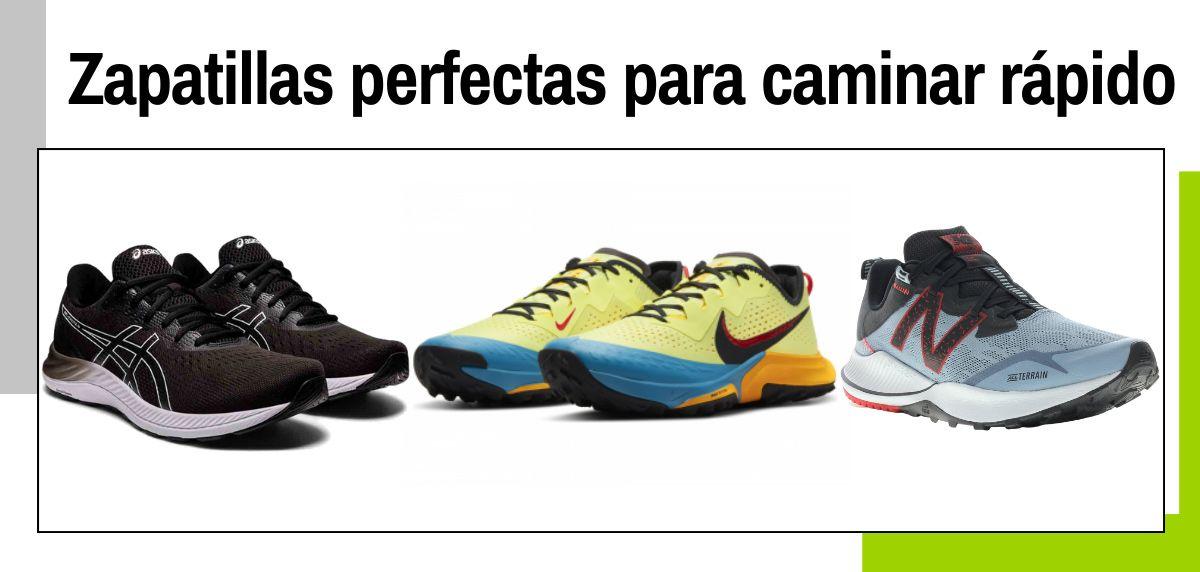 Las 12 mejores zapatillas para caminar rápido y practicar marcha deportiva